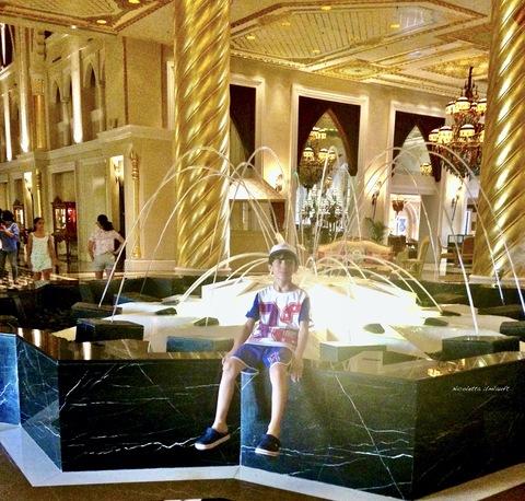 Fontana centrale della hall