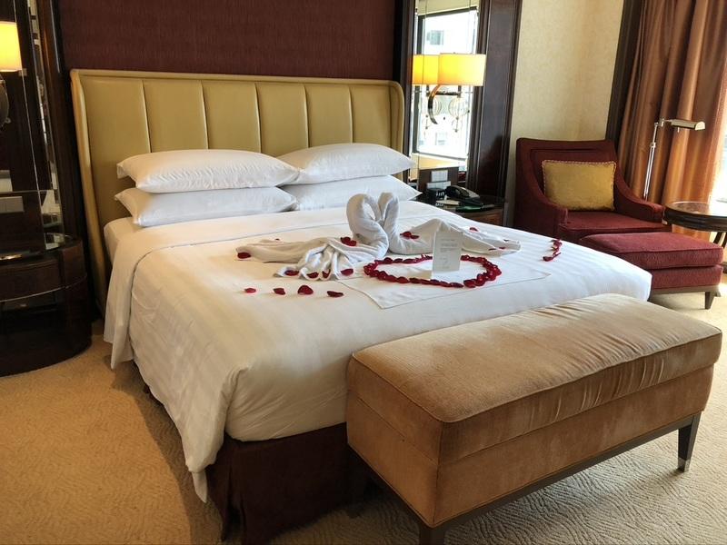 Bedroom Shangri-la Kuala Lumpur