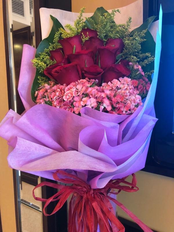 Bouquet of flowers Shangri-la Kuala Lumpur