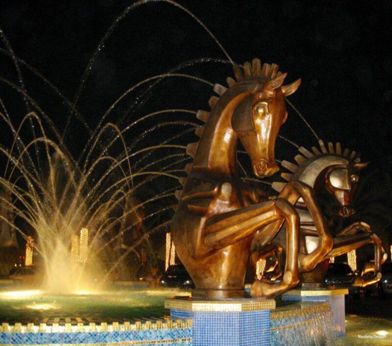 Al Qsar fountain