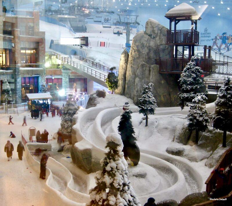 Ski at the Dubai Mall